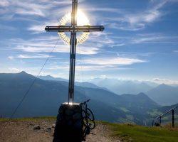 Foto von Gipfelkreuz